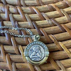 Medaille cherub by Brighton NWT